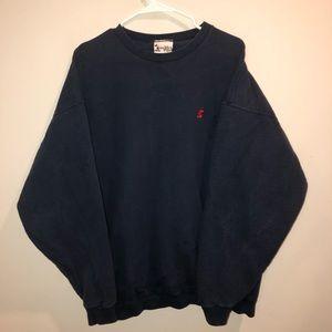Disney Mickey Mouse Crewneck Navy Blue Sweatshirt